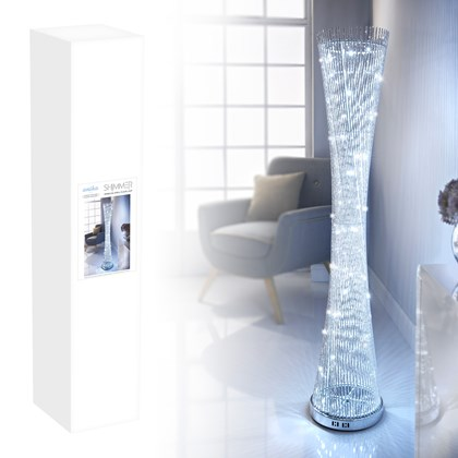 145cm Sparkling Spiral Floor Lamp