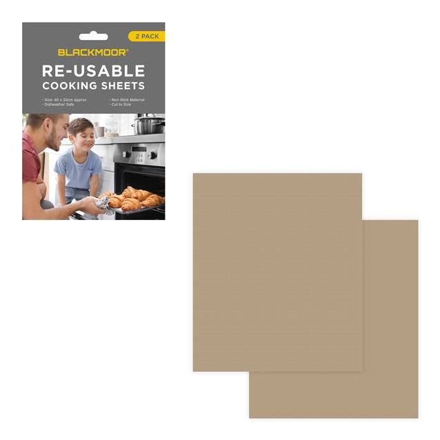 Blackmoor Home Reusable Cooking Sheet - 2 Pack