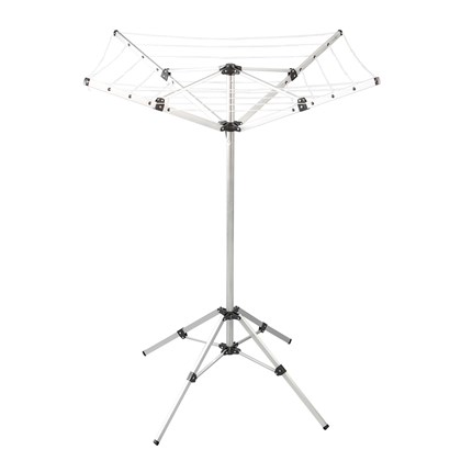 16M Outdoor Aluminium Camping Airer W/ 4 Arms