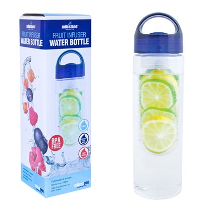 Fruit Infuser Water Bottle-Blue