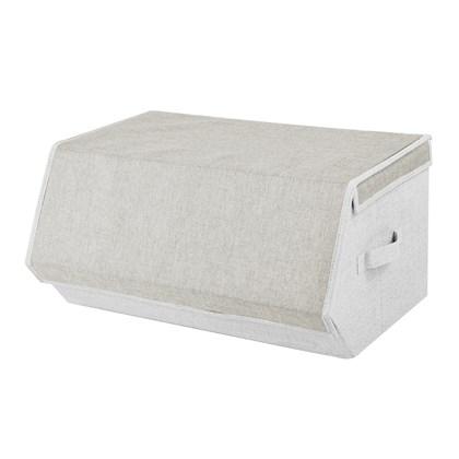 Large Magnetic Storage Box - Cream