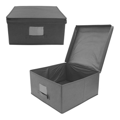 2 Pack Storage Box - Black
