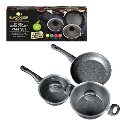 Blackmoor Home 5 Piece Sauce Pan Set
