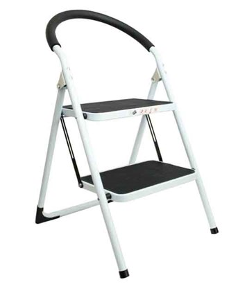 2 Step Ladder w/Rubber Grip