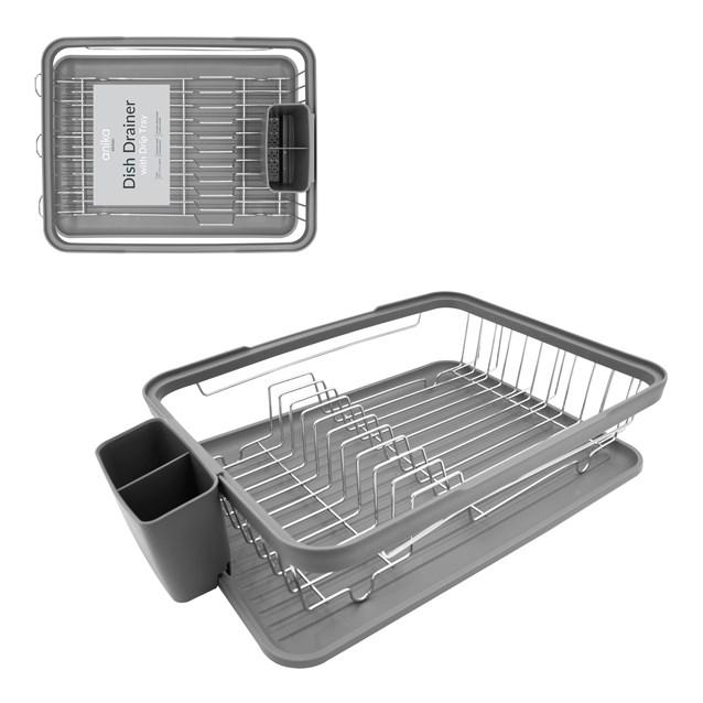 Dish Drainer - Grey