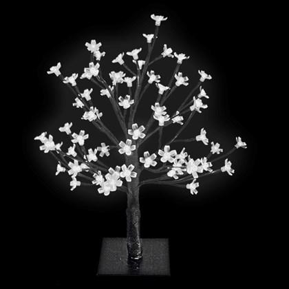 45CM 48 LED Blossom Tree - White