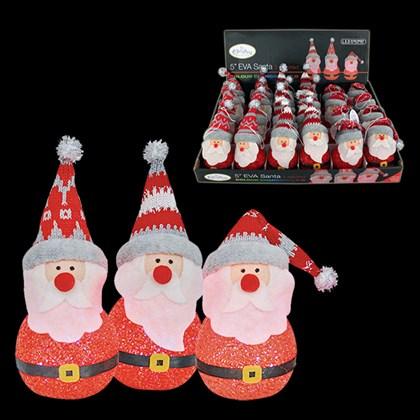 "5"" LED EVA Colour Changing Santa"