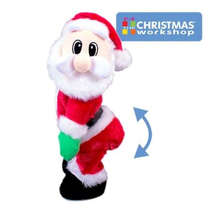 Singing & Dancing Plush Santa