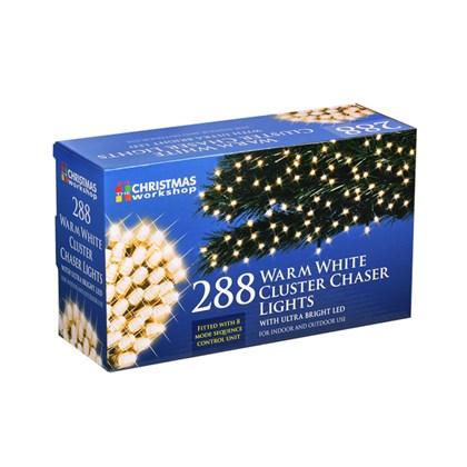 288 LED Warm White Chaser Cluster Light