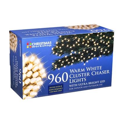 960 LED Warm White Chaser Cluster Light