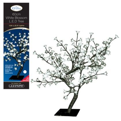 60CM 128 LED  Blossom Tree -  White