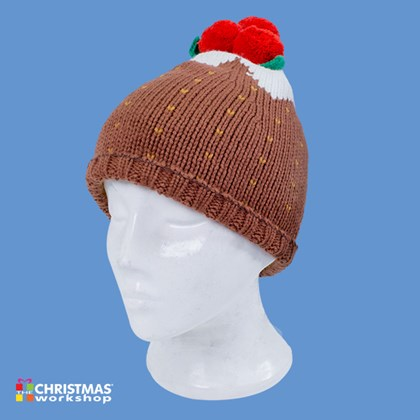Xmas Pudding Christmas Hat