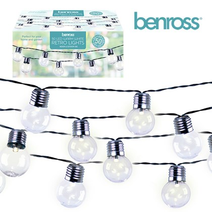 50 LED Party String Light - Warm White