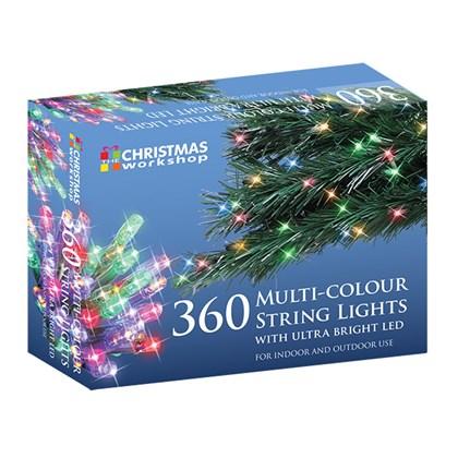 360 Multi Colour LED String Lights
