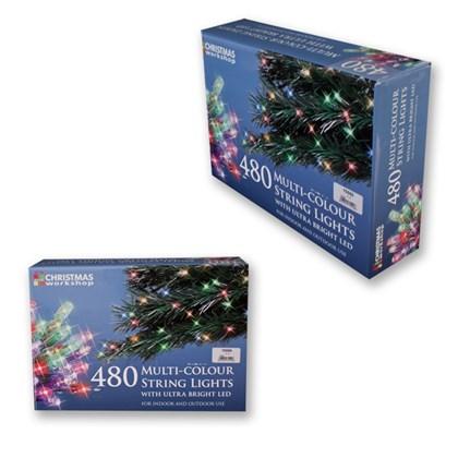 480 Multi Colour LED String Lights