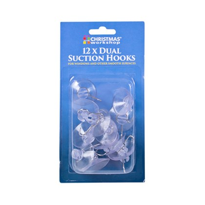 12PC 12x32mm Suction Hooks