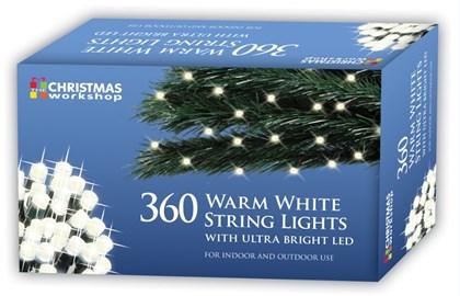 360 Warm White LED String Light