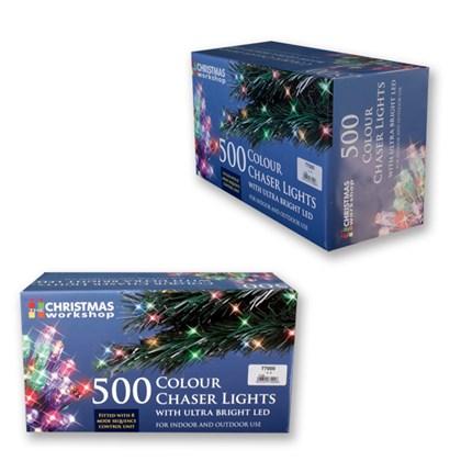 500 LED Multi-Coloured Chaser Lights