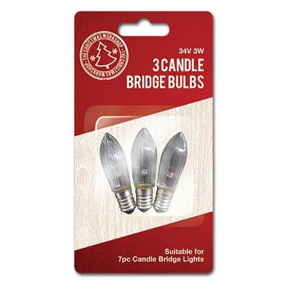 3pcs Candle Bulb