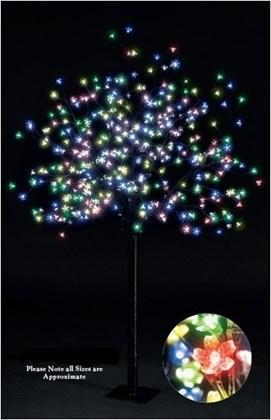 2.5m Blossom Tree-500 LED Multi Coloured