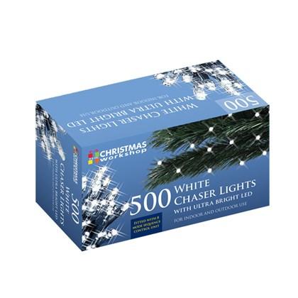 500 LED White Chaser Lights