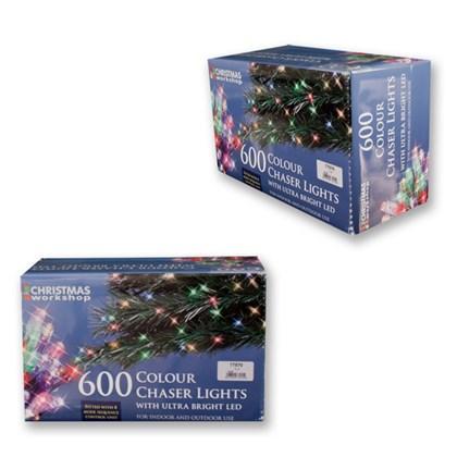 600 LED  Multi-Coloured Chaser Lights