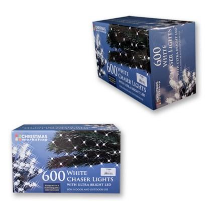 600 LED White Chaser Lights