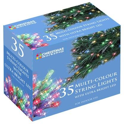 35 Multi Colour LED String Lights