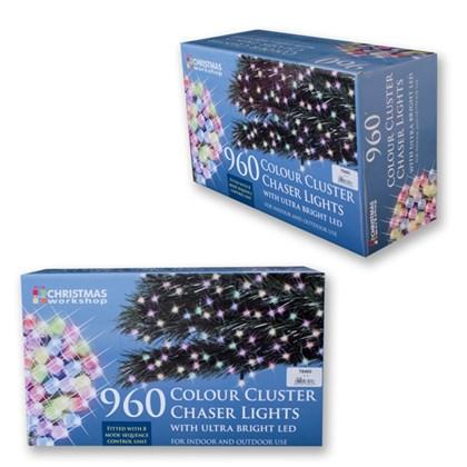 960 LED Multi-Colour Chaser Cluster Light