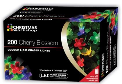 200 LED Blossom Chaser Lights -Multi-Coloured