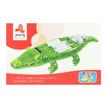 Inflatable Crocodile Pool Float