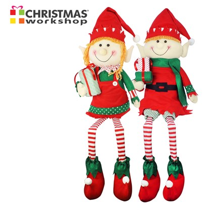 "32"" Decorative Plush Elf"