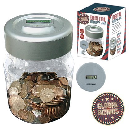 Digital Money Jar