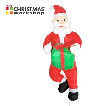 90CM Santa +Giftbox Hanging Decoration