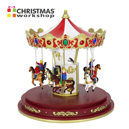 Musical LED Revolving  Up and Down Carousel
