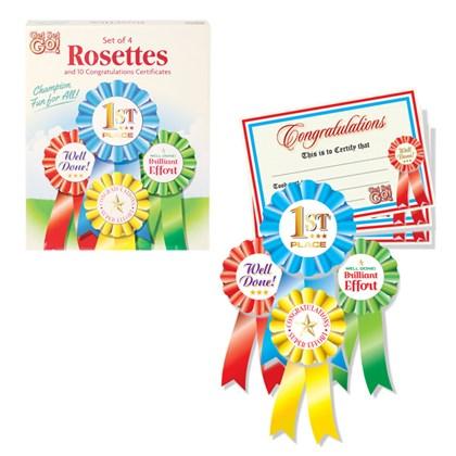 Winners Rosettes
