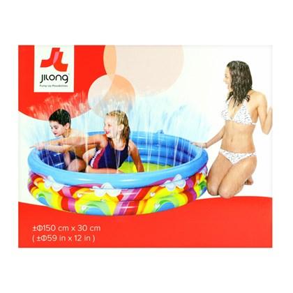 Inflatable Rainbow Spray Pool