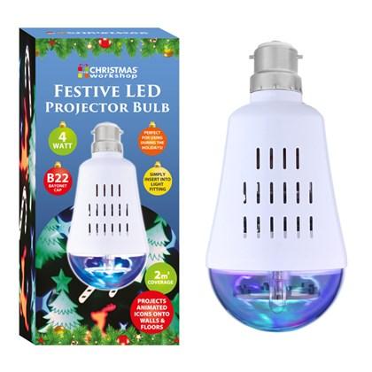 Christmas LED Projector Bulb
