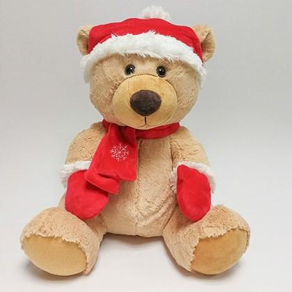 35cm Traditional Festive Bear