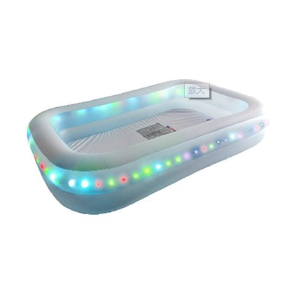 Light Up LED Leisure Pool- L200xW150xH50cm