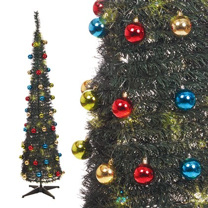 6ft Pop Up Xmas Tree Green
