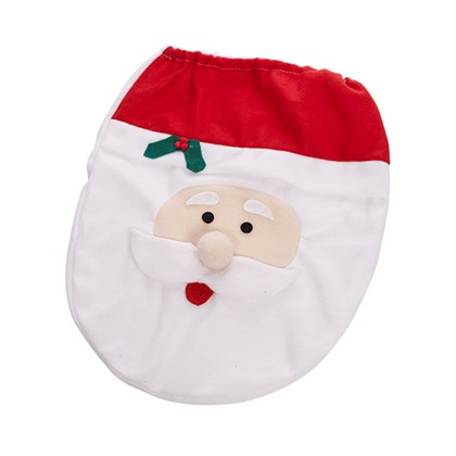 Fleece Santa Toilet Cover