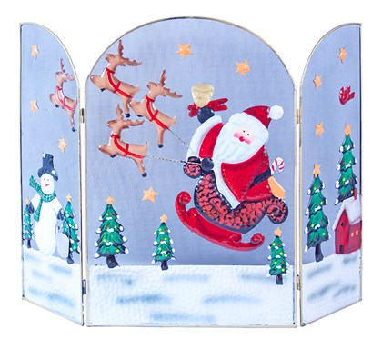 63cm Santa/Snowman Fire Guard