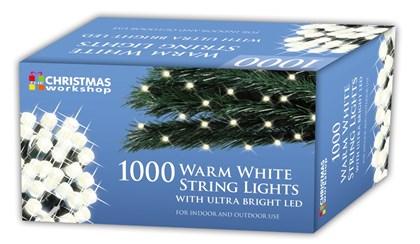 1000 LED Warm White Chaser Lights