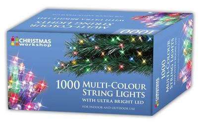 1000 LED Multi-Coloured Chaser Lights