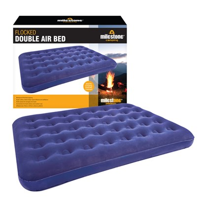 d07d7e6c3d345 Double Flocked Airbed