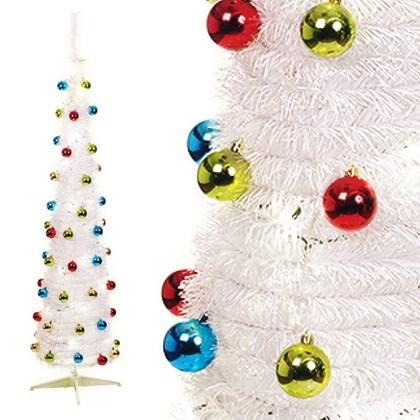 6ftf Pop-up Xmas Tree-White