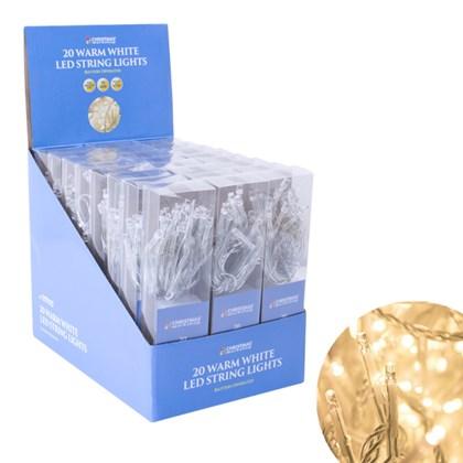 BO 20 LED String Lights - Warm White