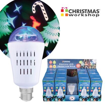 Christmas LED Projector Bulb - CDU