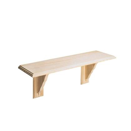 89cm Pine Wood Shelf